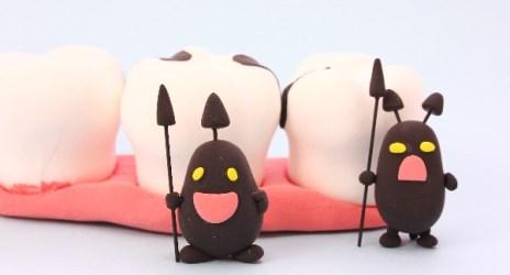 口臭の原因になる虫歯!